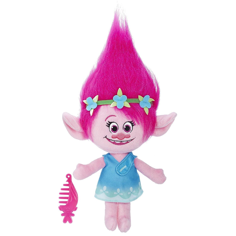 Trolls DreamWorks Poppy Talkin Plush Doll Hasbro B7772000