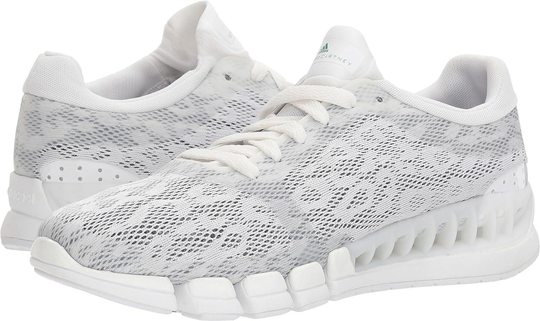 adidas by Stella McCartney Women's Kea Clima Sneakers B078ZKJ88H 10.5 B(M) US|Footwear White/Green/Collegiate Navy