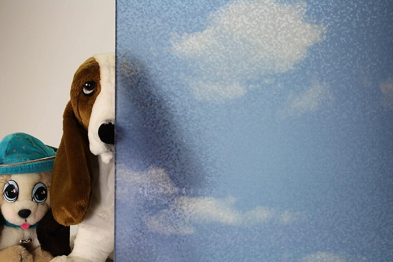 雲、Decorartive、プライバシー、Static Cling Window Film 36