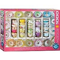 Eurographics 6000-5342 Tea Cups Boxes Puzzle, meerkleurig