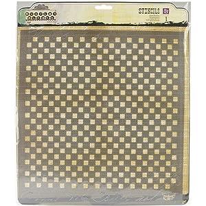 Honeycomb 12 by 12-Inch Prima Marketing PSTEN-60506 Elementals Stencil