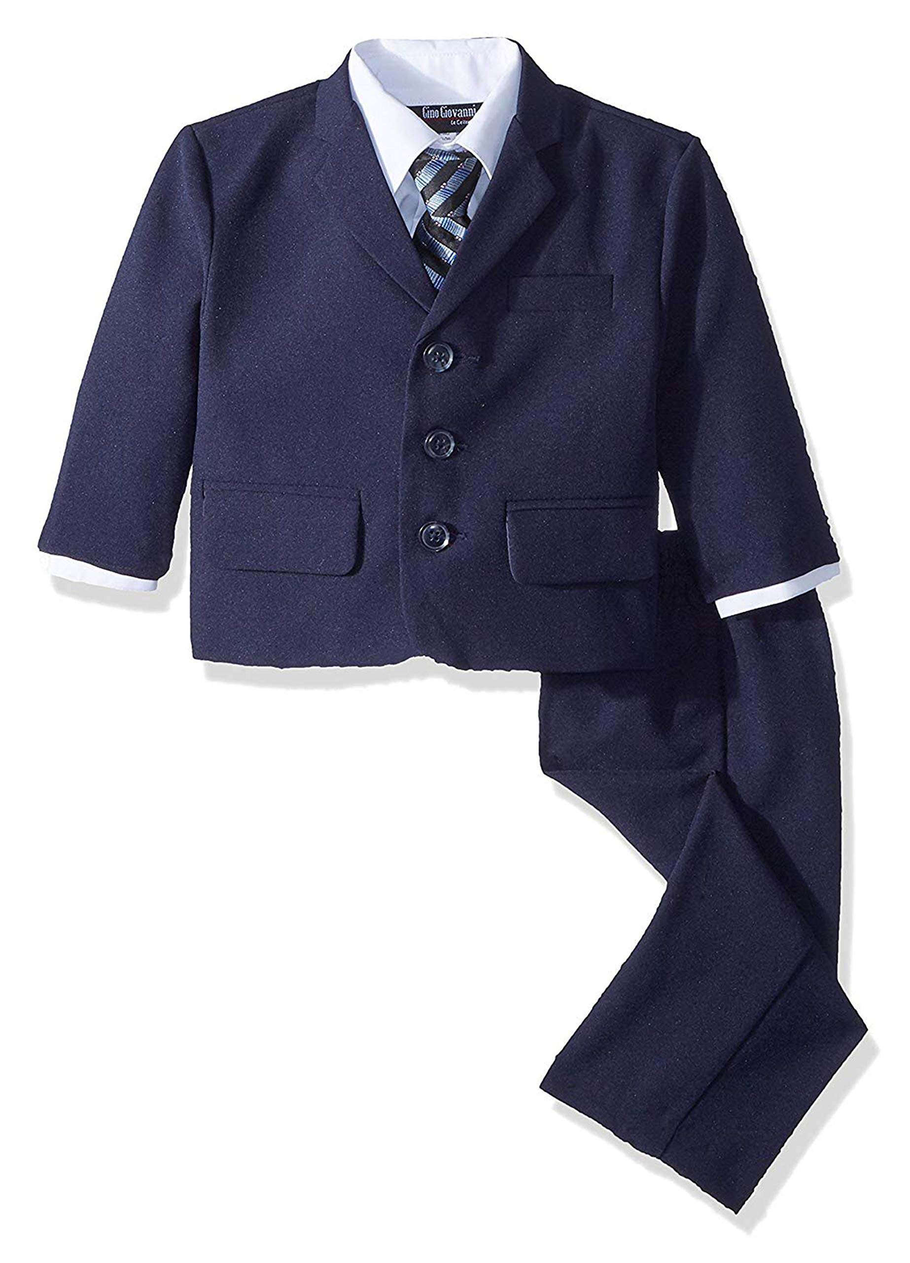 Gino Boys G230 Navy Blue Suit Set from Baby to Teens (24 Months)