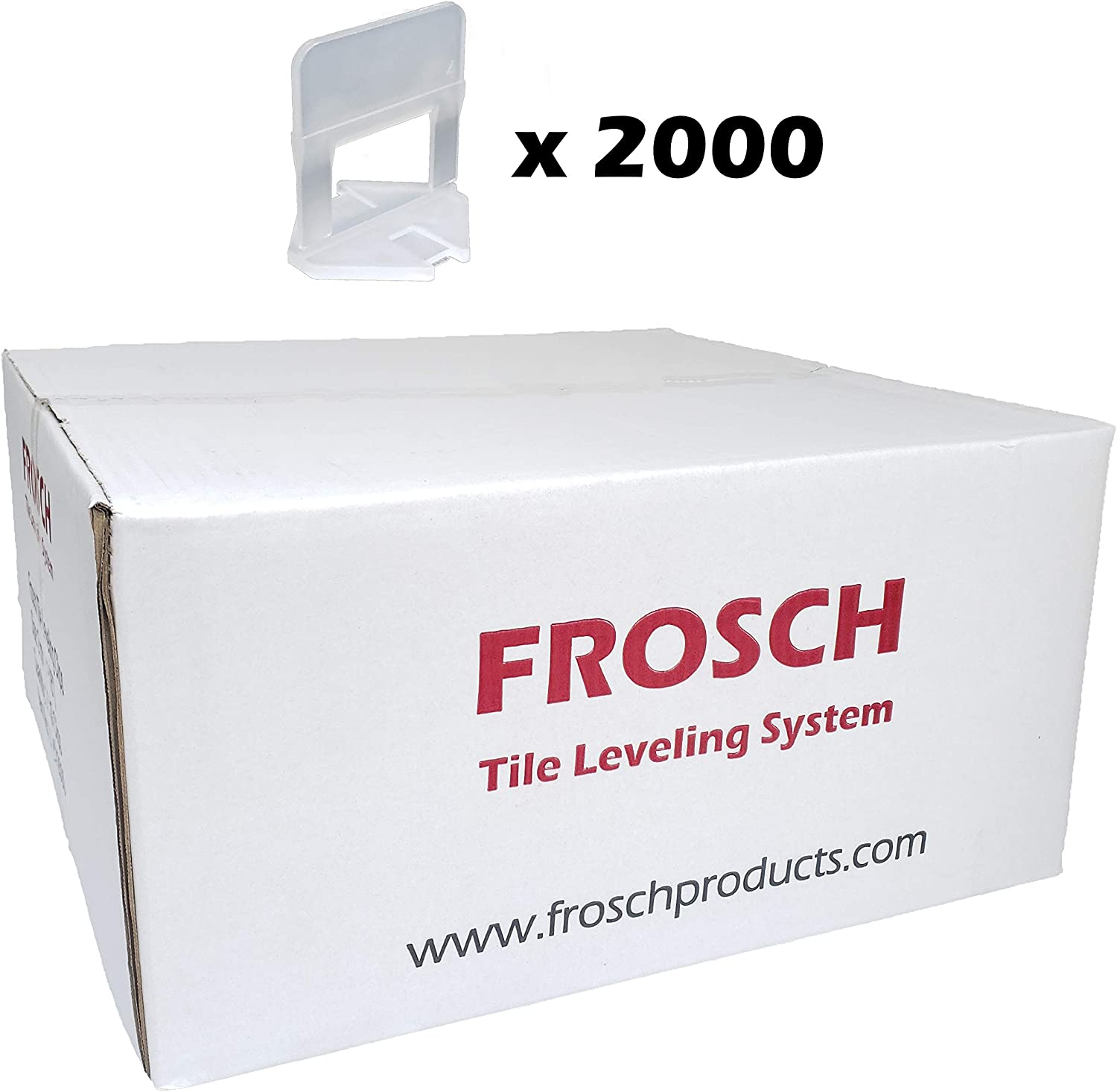 Reusable Wedges 250-Pack FROSCH Tile Leveling System