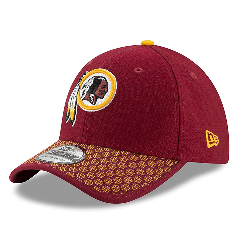 ニューエラ (New Era) 39サーティ キャップ - NFL 2017 サイドライン ワシントンレッドスキンズ (Washington Redskins) L/XL (58-62cm)   B074655HKM