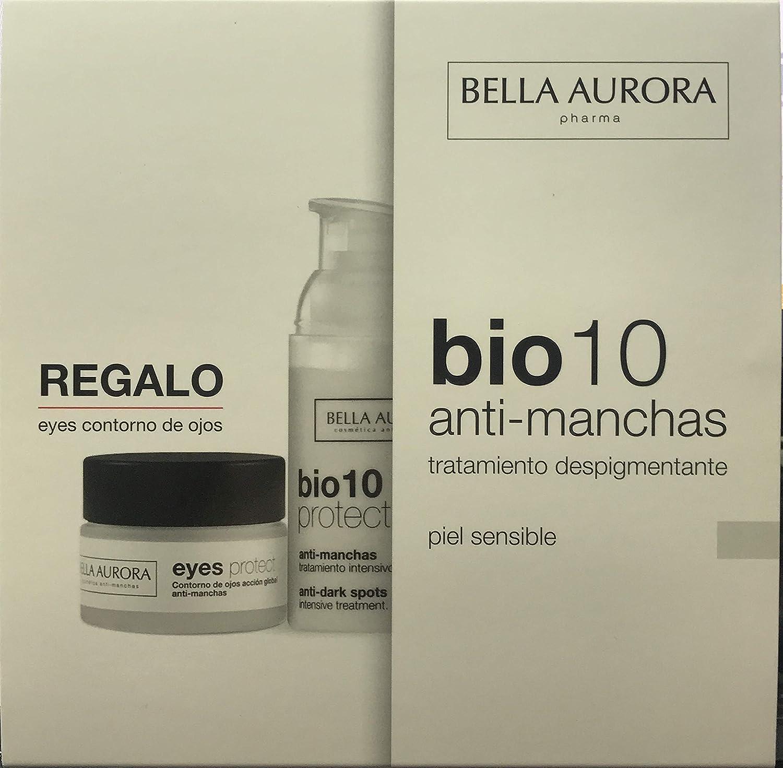 Bella Aurora pack BIO10 piel sensible anti-machas + Contorno Ojos: Amazon.es: Salud y cuidado personal