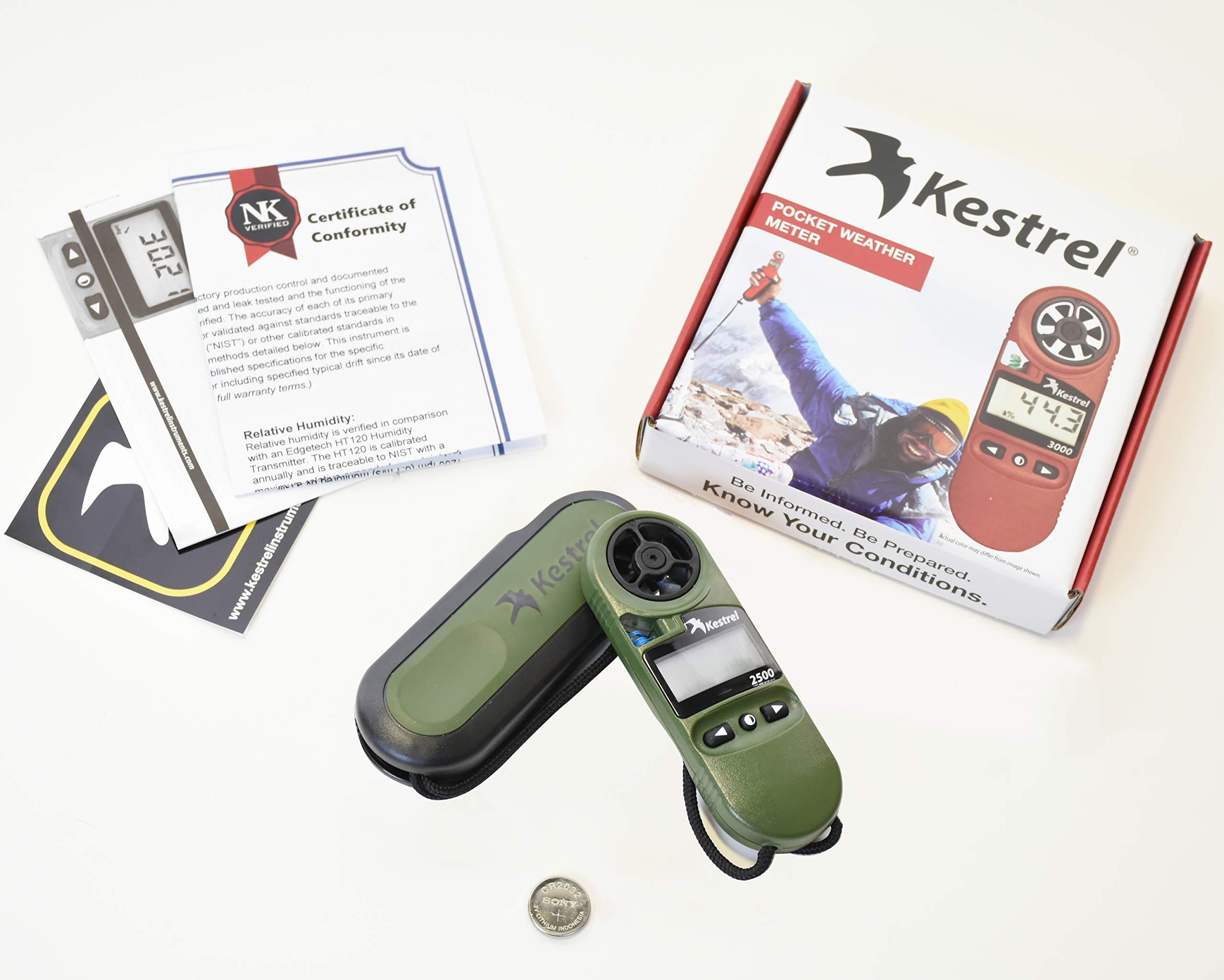 Kestrel 2500NV Pocket Weather Meter by Kestrel (Image #6)