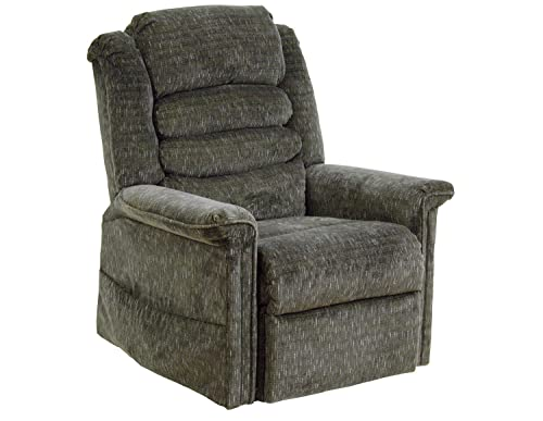Catnapper Soother 4825 Power Full Lay-Out Lift Chair Recliner with Heat and Massage – Woodland