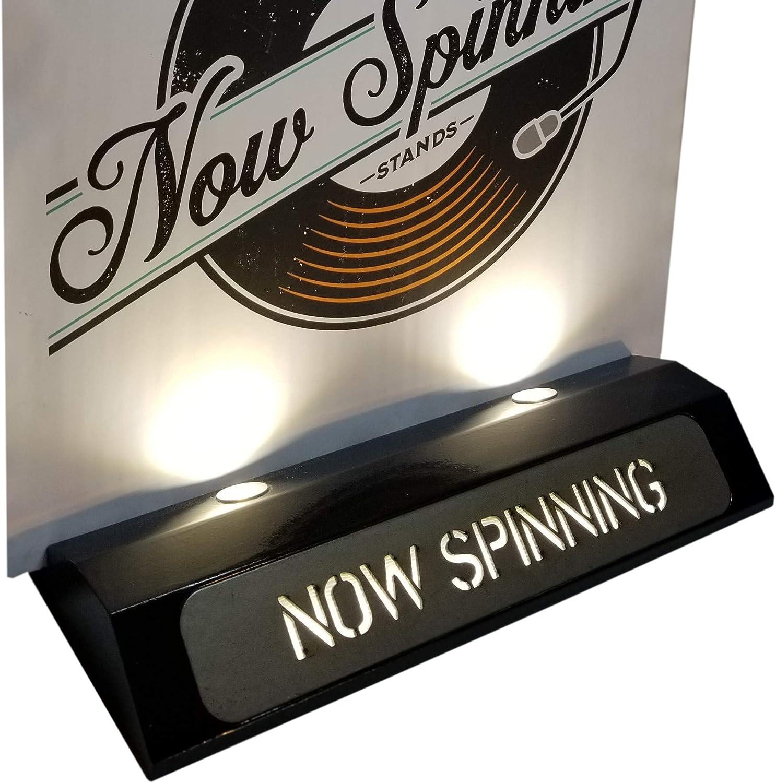 Now Spinning Display Stands Soporte de exhibición de Discos de ...