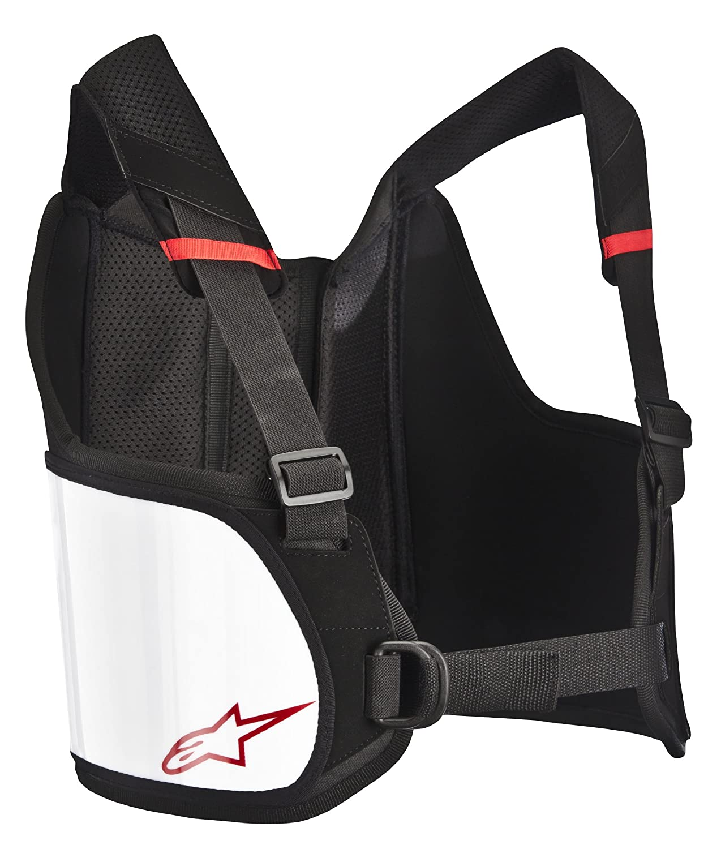 6537013-12-S//L Black//White Small//Large Bionic Rib Protector Alpinestars