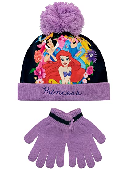 ladies Girls New Winter cap One size fits all PURPLE Bobble beanie hat