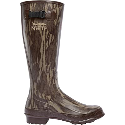 "Lacrosse Men's Grange 18"" NWTF Mossy Oak Original Bottomland Knee High Boot 