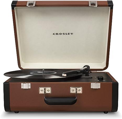 Amazon.com: Crosley Portfolio - Tocadiscos portátil: Electronics