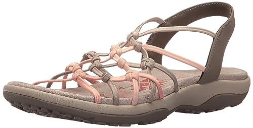 7efda0d24ded Skechers Women s Reggae Slim-Forget Me Knot Sling Back Sandals ...