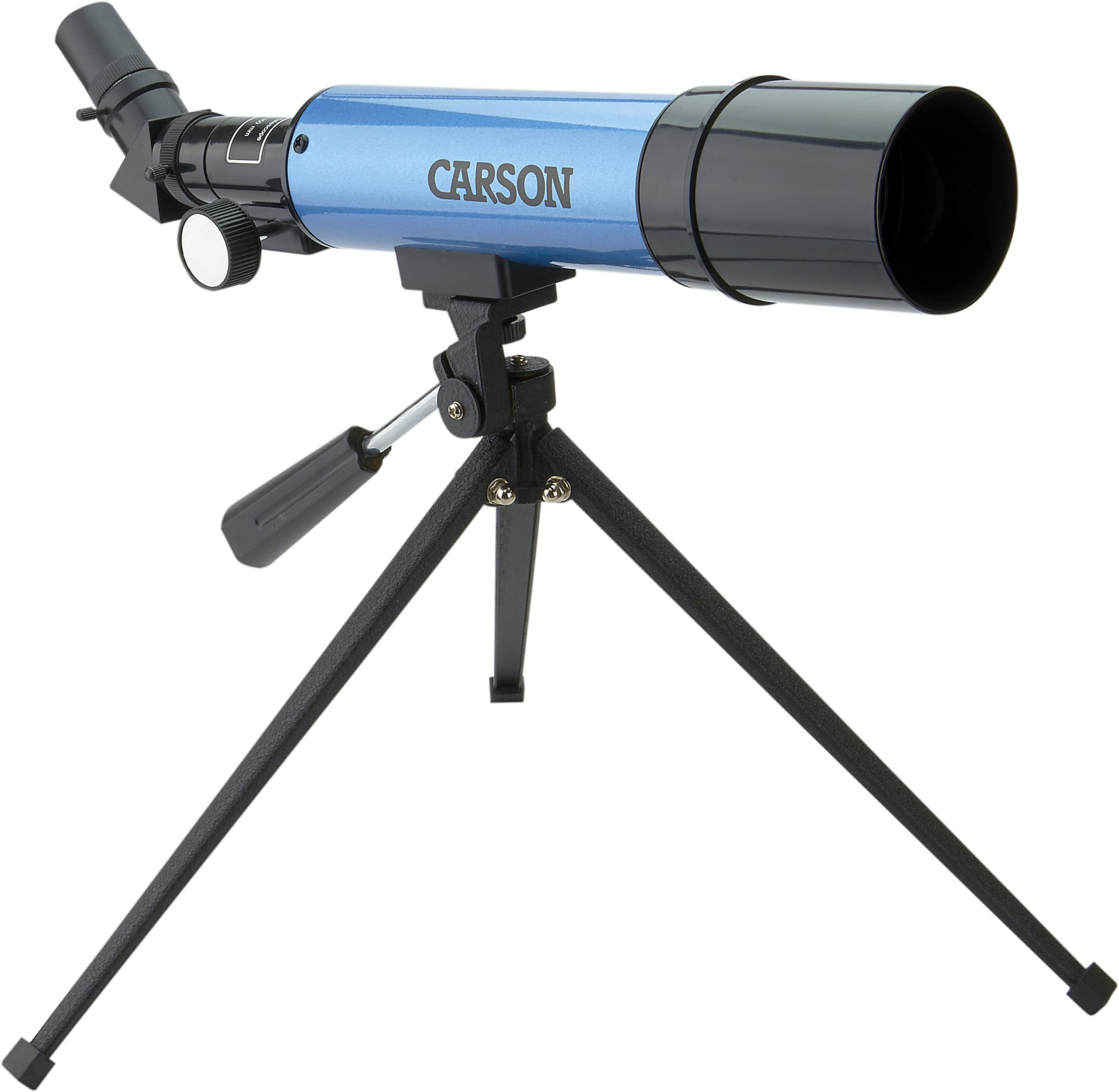 Carson Aim Refractor Type 18x-80x Power Telescope with Tabletop Tripod (MTEL-50) by Carson