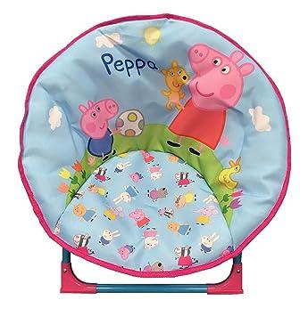 Silla plegable para niños y niños, diseño Peppa Pig: Amazon ...
