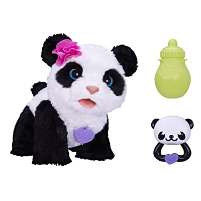 FurReal Friends Pom Pom My Baby Panda Pet: Toys & Games