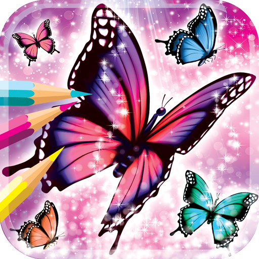Libro De Colorear De Mariposa Amazones Appstore Para Android