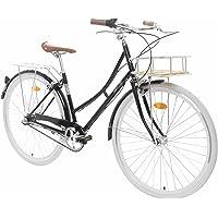 Fabric City - Vélo de Ville avec Panier, Interne 3 Vitesses Shimano, Femme Hollandais City Bike, 5 Couleurs, 14kg