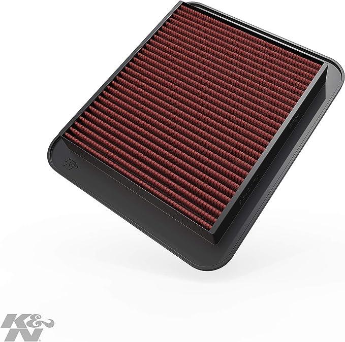 K&N 33-2170 Filtro de Aire Coche, Lavable y Reutilizable: Amazon ...