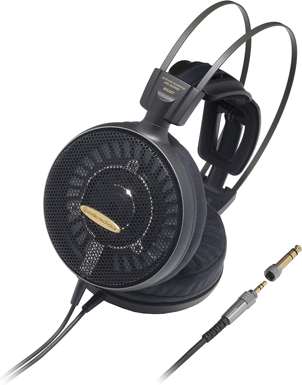 Audio Technica Ath Ad2000x High Fidelity Open Back Kopfhörer Schwarz Musikinstrumente