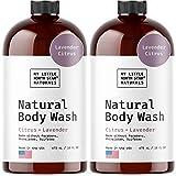 Body Wash - Natural Made in USA - Lavender Oil, Vitamin E, Essential Oils - Soap - Shower Gel - Womens Body Wash - Body Wash