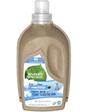 Seventh Generation Free and Clear Concentrated Liquid Laundry Detergent 1.47L