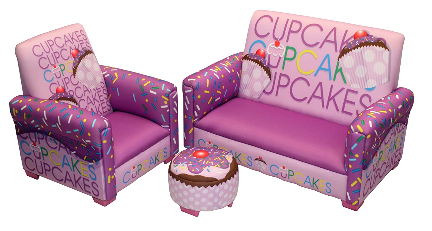 Amazon.com: Newco Kids Cup Cake Collection 3 Piece Toddler Set, Lavender:  Baby