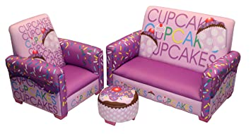 Merveilleux Newco Kids Cup Cake Collection 3 Piece Toddler Set, Lavender