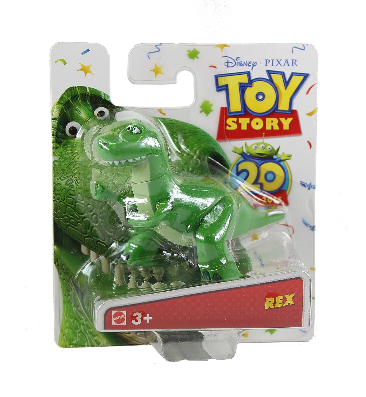Woddy Buzz Lightyear Disney Pixar Toy Story Buddy 20th Anniversary Collection Set of 4 Mini Figures Jessie /& Rex Mattel