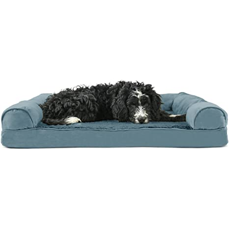 Excellent Furhaven Pet Dog Bed Sofa Style Couch Pet Bed For Dogs Cats Available In Multiple Colors Styles Bralicious Painted Fabric Chair Ideas Braliciousco