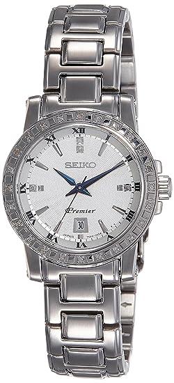 Seiko Reloj Analógico para Mujer de Cuarzo con Correa en Acero Inoxidable SXDG57P1: Amazon.es: Relojes