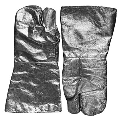 Alta temperatura resistente al calor – soldadura guante guantes de soldador soldadura TIG MIG ignífuga de