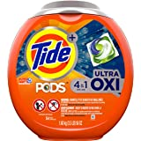 Tide PODS 4 in 1, Ultra Oxi, Laundry Detergent Liquid Pacs, 54 Count - Packaging May Vary , 1.6 kg (Pack of 1)
