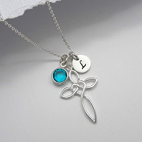 73b2deb0af7b Amazon.com  Sterling Silver Cross Necklace