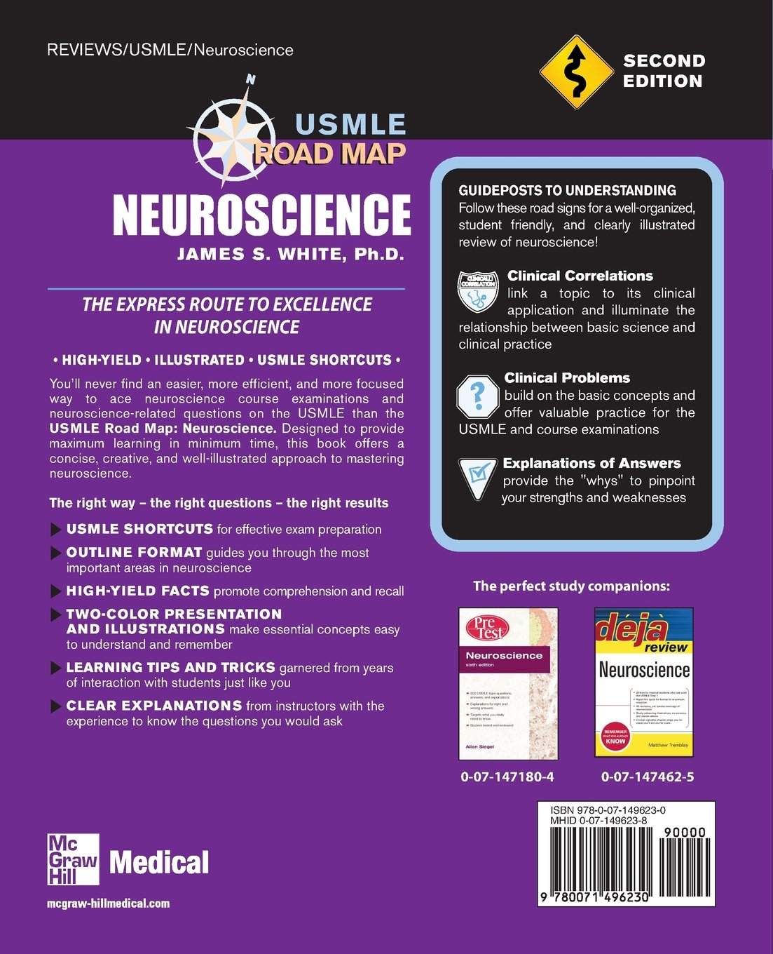 Usmle Road Map Neuroscience Second Edition James S White
