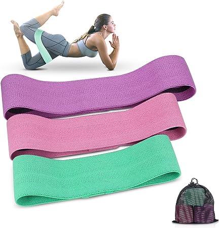 Fasce Elastiche Elastici Fitness Bande allenamento palestra yoga pilates Squat