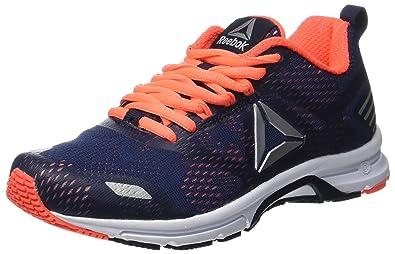 Ahary Runner, Zapatillas de Running para Mujer, Azul (Navy/Guava Punch/Pewter/White), 42 EU Reebok