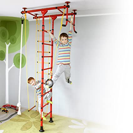 Swedish Ladder Wall Bars Climbing Wall Fitness Sport Gymnastic Workout Gym Set Toys & Hobbies