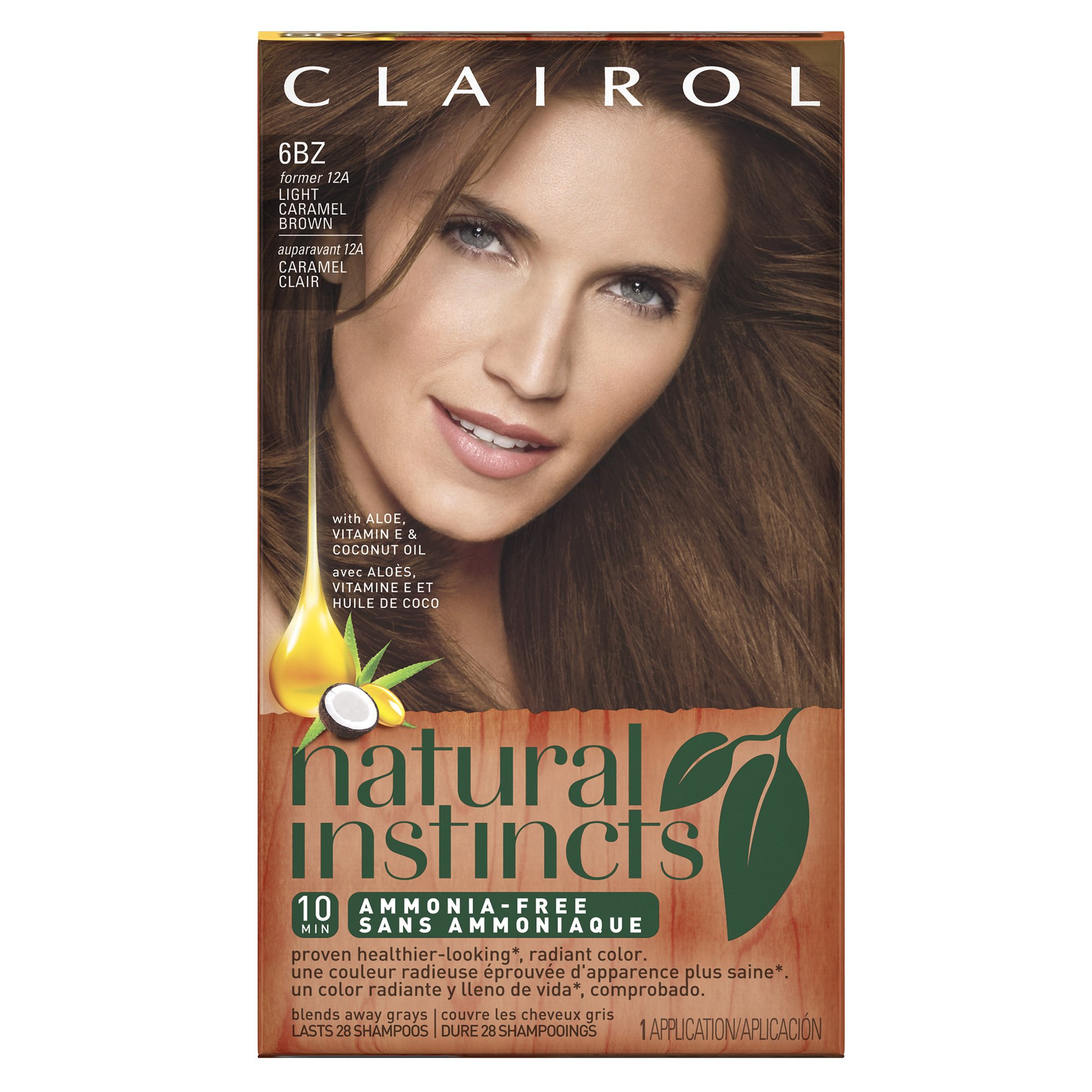 Amazon clairol natural instincts semi permanent hair color clairol natural instincts semi permanent hair color kit pack of 3 6bz solutioingenieria Choice Image