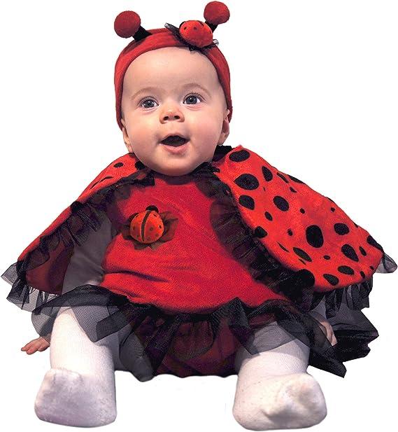 Ciao - Disfraz de Mariquita para bebé (0-9 Meses), Color Rojo y ...