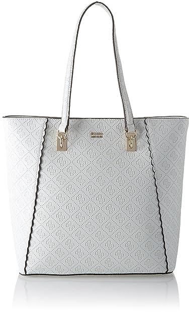 7f9ed2ac15 Guess Bags Hobo, Sacs portés épaule femme, Blanc (White), 14.5x31x30 ...