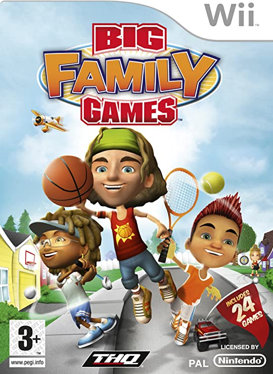 Big Family Games (Wii) [Importación inglesa]: Amazon.es: Videojuegos