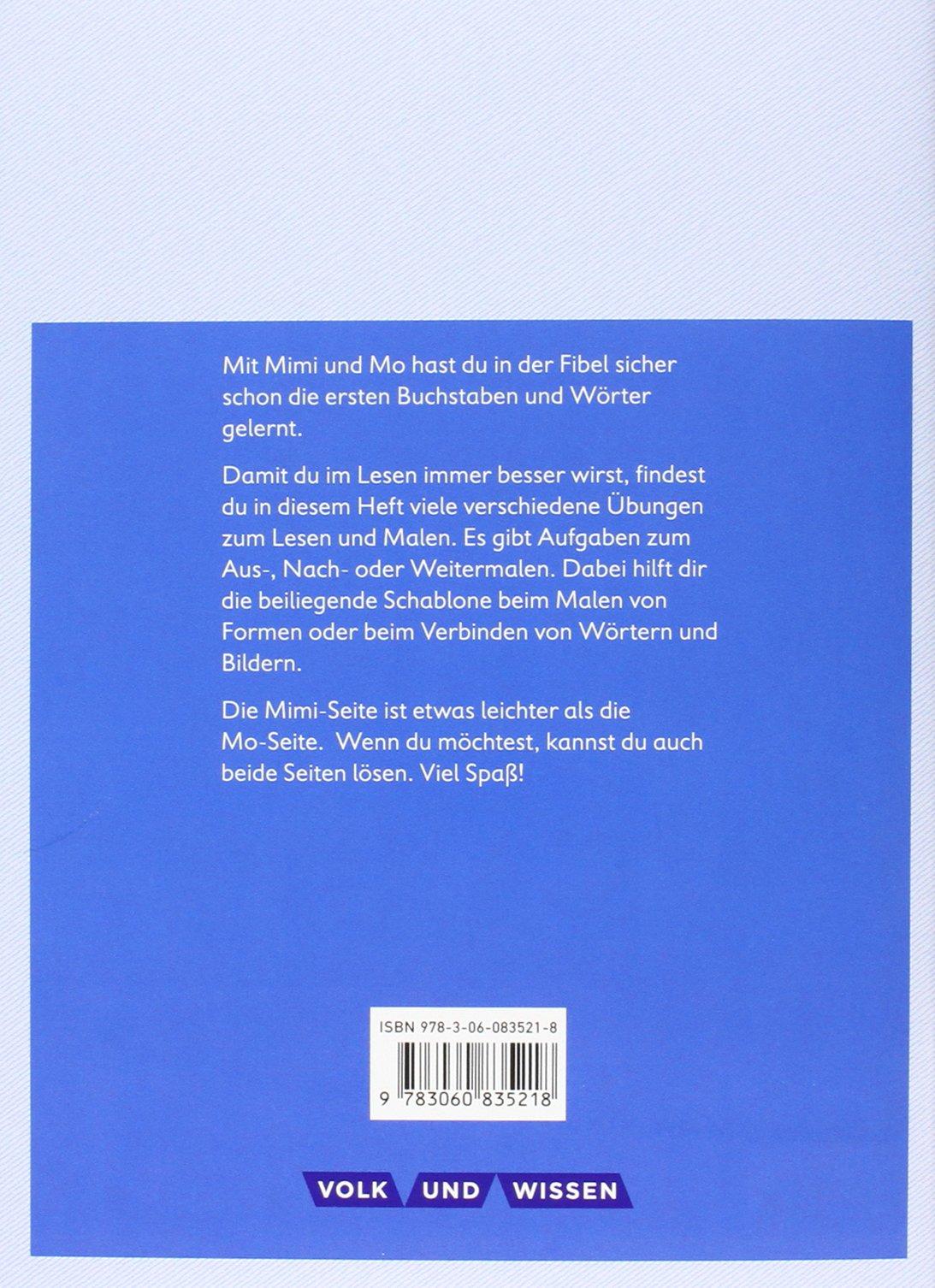 Meine Fibel - Aktuelle Ausgabe: 1. Schuljahr - Lese-Mal-Heft: Mit ...