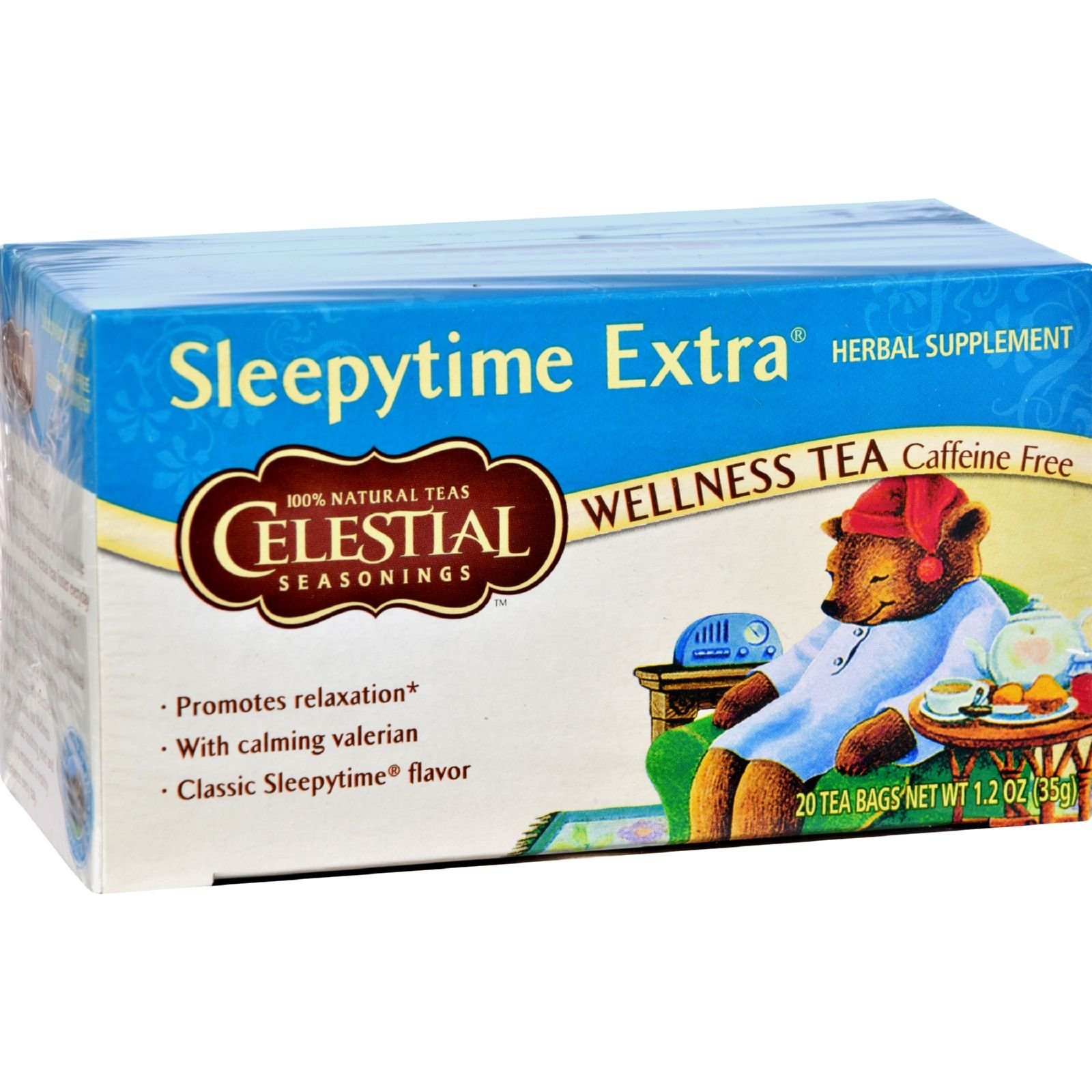 Celestial Seasonings Sleepytime Extra Tea Bags, 20 ct, 2 pk