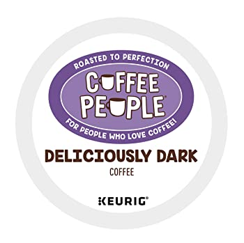 Coffee People Deliciously Dark Roast K Cup