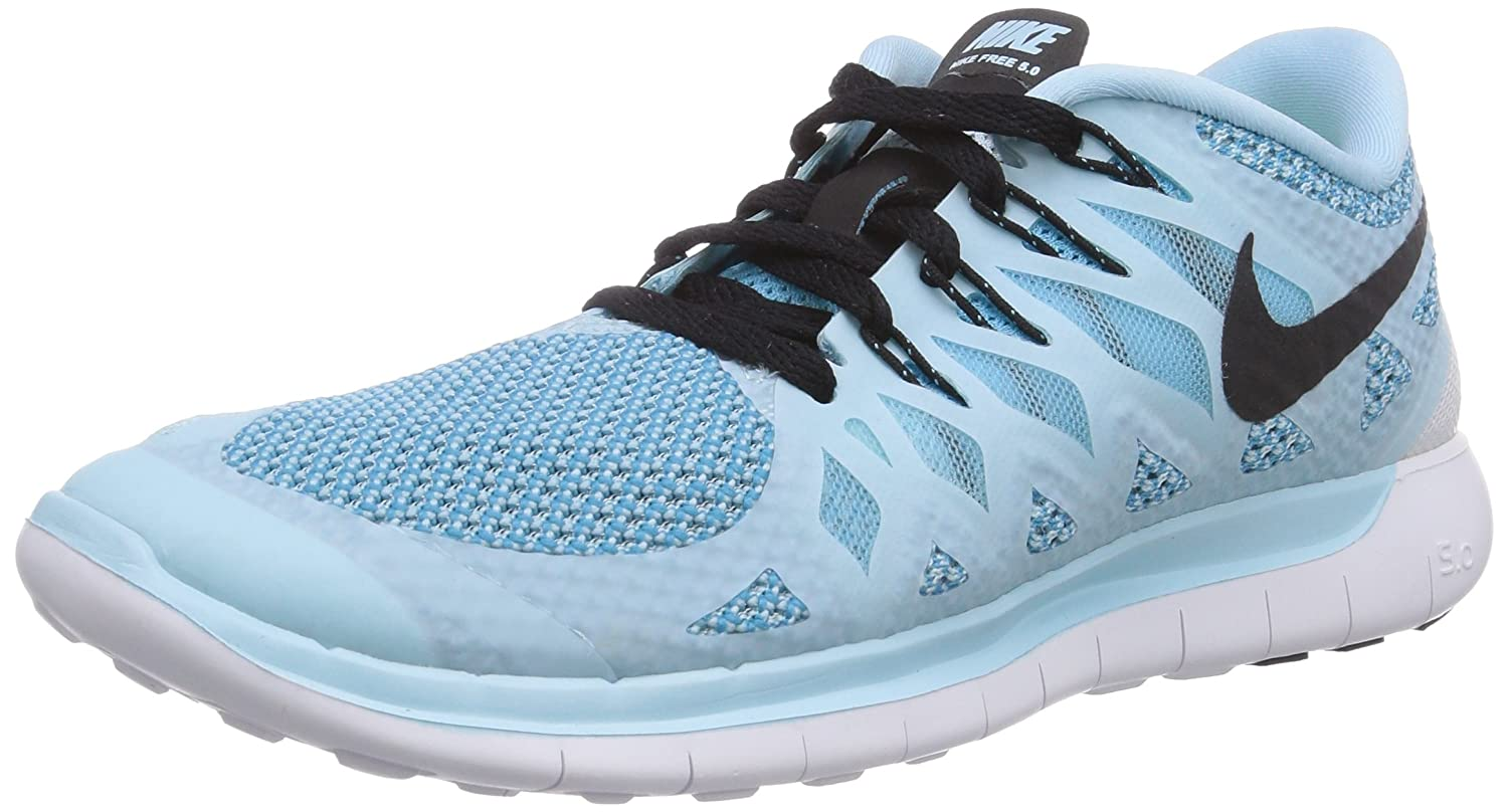 Nike Free 5.0 Womens, Men's Sneakers, Blue - Blue (Ice Cube  Blue/Black-Clearwater 402), 3.5 UK: Amazon.co.uk: Shoes & Bags