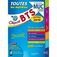 Objectif BTS MUC 2019 Toutes les matières