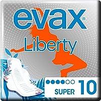 Evax Liberty Super Compresas Alas X 10