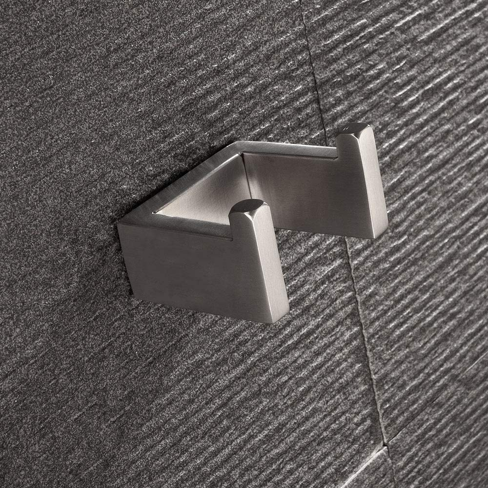 Celbon Portarrollos de papel higi/énico SUS304 Soporte de acabado de cromo de acero inoxidable Soporte de papel de seda montado en la pared para inodoro Cepillo Conjunto de accesorios 1