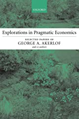 Explorations in Pragmatic Economics Paperback
